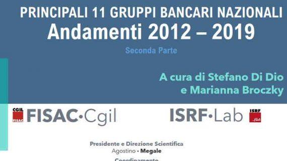 ISRF Lab: Outlook 04/2020 – I principali 11 Gruppi Bancari nel periodo 2012/2019 (Seconda parte)