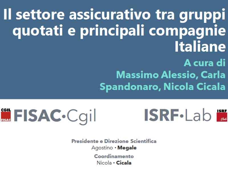 ISRF Lab: Outlook 07/2020 – Il settore assicurativo tra gruppi quotati e principali compagnie Italiane