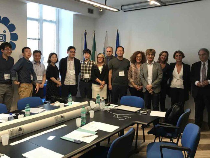 Roma: incontro con la delegazione coreana del sindacato KFCLU