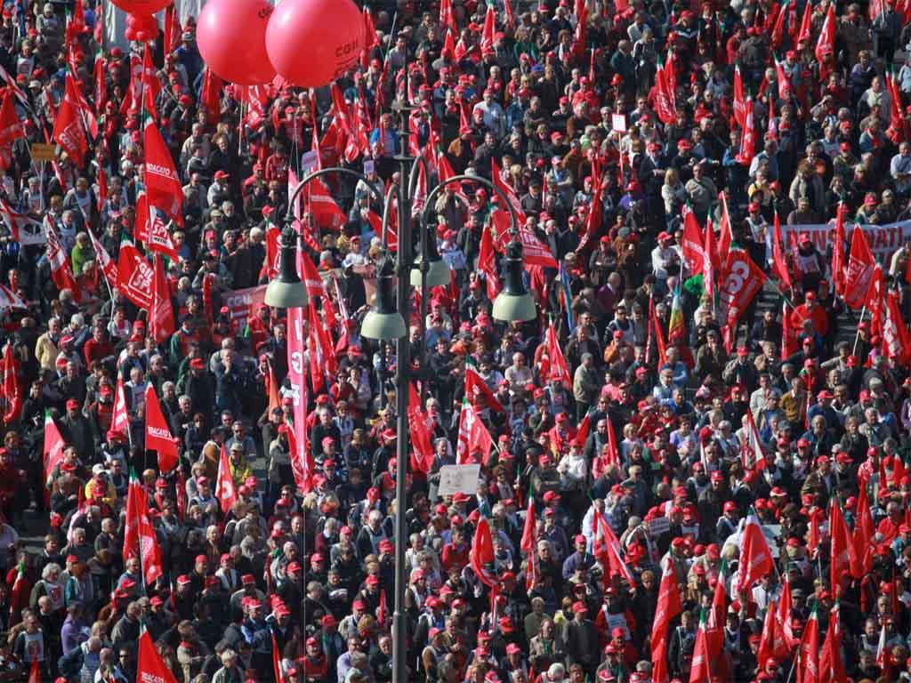 Cgil, Cisl e Uil: il 9 febbraio manifestazione nazionale a Roma
