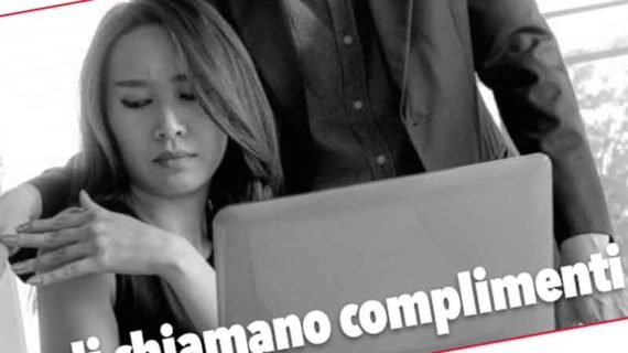 Molestie sul lavoro: …e li chiamano complimenti