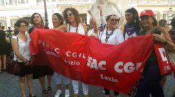 DDL Pillon: presidio davanti a Montecitorio