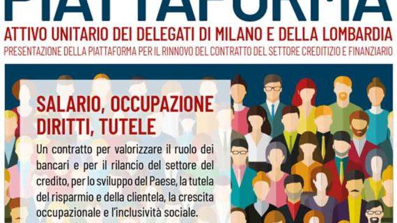 Attivo unitario dei delegati di Milano e della Lombardia