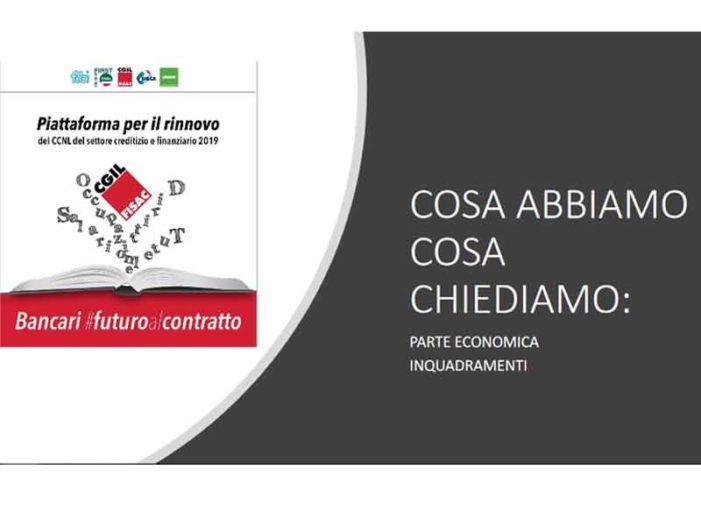 Piattaforma CCNL 9, parte economica e inquadramenti