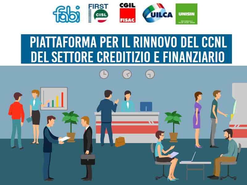 Presentazione alla stampa della piattaforma CCNL del Credito